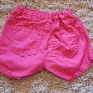 Children's Place Bottoms - Girls Pink Children's Place Shorts